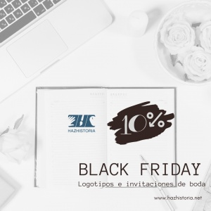 Black Friday - Diseño logotipos - Diseño invitaciones de Boda